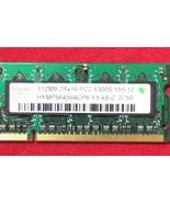 Hynix Memory-512 GB 2RX16 PC2-4200s-555-12, lot of 2 RARE VINTAGE - $8.41