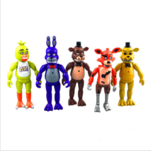 5 Five Nights At Freddy's Bonnie Chica Foxy Bear FNAF Doll Action Figure... - $15.82