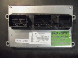 **07 Ford Fusion Milan 2.3L Ecm #7E5A-12A650-SD*MATCH Part #(BOX-2783) - $34.65