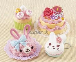 "Japanese DIY Whipple ""Animal Sweets Rabbit Set"" Fake Sweets Key Chain Ma... - $35.06"