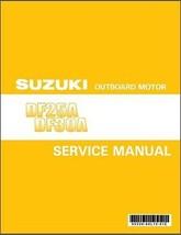 Suzuki DF25A - DF30A EFI Outboard Motor Service Repair Manual CD - $12.99