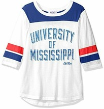 NCAA Mississippi Ole Miss Women's Touch Gridiron Tee T-Shirt Size XL X-L... - $17.79