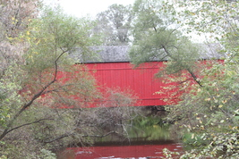 Moods Covered Bridge 13 x 19 Unmatted Photograph - $35.00