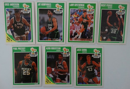 1989-90 Fleer Milwaukee Bucks Team Set Of 7 Basketball Cards - $2.75
