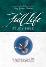 KJV Full Life Study Bible, The Stamps, Donald C. and Adams, J. Wesley - $150.00
