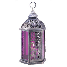 Enchanted Fuschia Candle Lantern 10013931 - $23.22