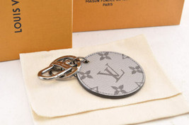 LOUIS VUITTON Monogram Silver Porte Cles Bag Charm MP1985 LV Auth yy446 - $498.00