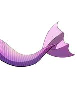 Pink mermaid tail v2 thumbtall