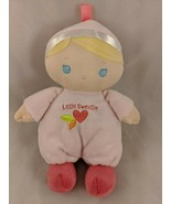 "Kids Preferred Pink Doll Little Sweetie Plush 9"" 2014 Stuffed Animal - $7.35"