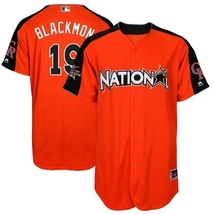New National League Rockies 19 Charlie Blackmon Orange 2017 MLB All-Sta... - $42.00