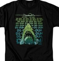 Jaws Movie Retro 70s 80s Amity Island Da-Dum Brody graphic t-shirt UNI1093B image 3