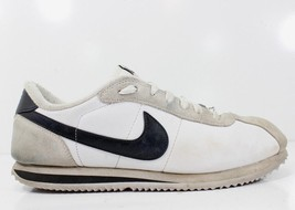 Nike Cortez Leather White Black Running Athletic Trainer Shoes 316418 Me... - £32.37 GBP
