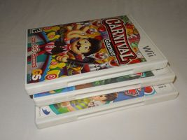 Wii Lot - Carnival Games 30 Great Games Family Party Crayola Colorful Journey image 8