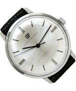 GIRARD-PERREGAUX Gyromatic Stainless Steel Automatic Serviced Watch Gorg... - $895.50