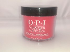 Authentic OPI Dipping Powder - DPU12 Red Heads Ahead - $21.99