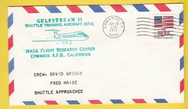 GULFSTREAM II SHUTTLE TRAINING EDWARDS CA JUNE 29 1977 FRED HAISE - $1.78