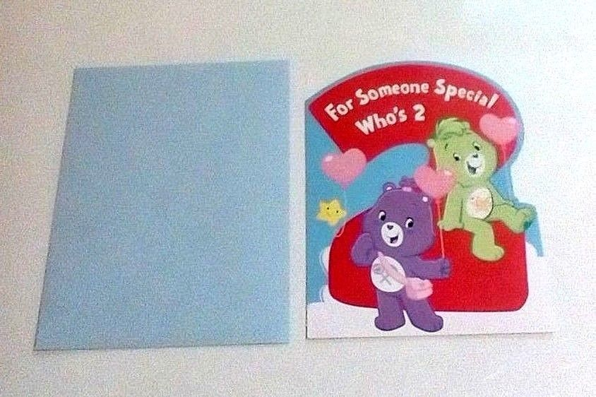 American Greetings Care Bears Birthday Card For Someone Special Who's  2