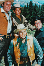 Bonanza Cast Portrait With Pernell Roberts 18x24 Poster - $23.99