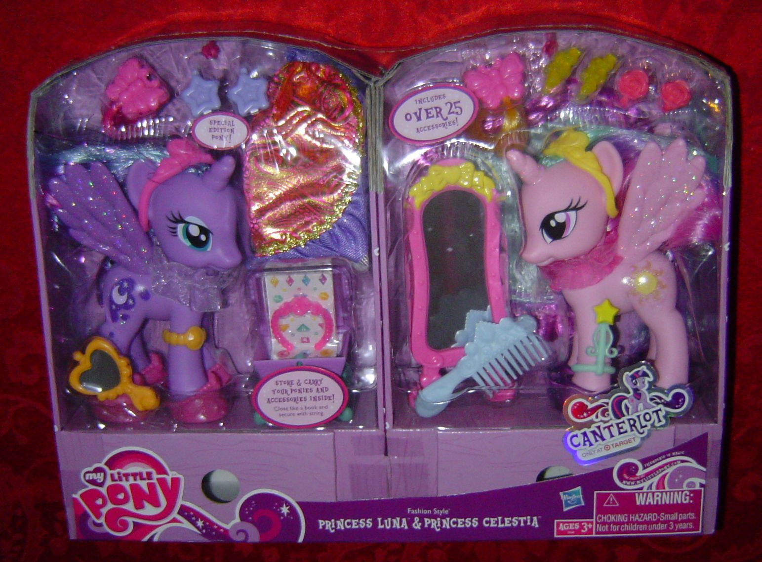 My Little Pony Fashion Style Princess Luna Princess Celestia 2 Pack 1990 Now