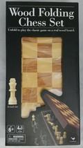 Cardinal Wood Folding Chess Game Set - $29.69