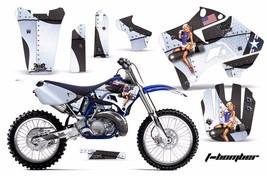 Dirt Bike Graphic Kit Decal Sticker Wrap For Yamaha YZ125 YZ250 96-01 TBOMBER W - $169.95