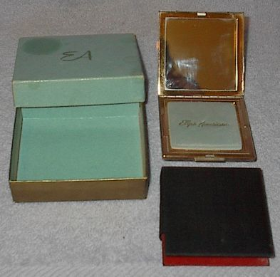Vintage Elgin American Ladies Powder Compact Case with Mirror
