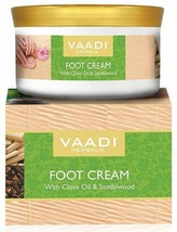 Vaadi Herbals Foot Cream, Clove and Sandal Oil, 150g*u.k - $15.52