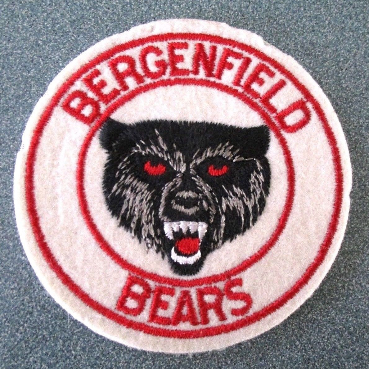 Vintage Bergenfield Bears NJ Patch 3.75""