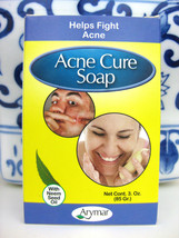 Sulfur Soap ACNE ARYMAR Organic Neem Oil, Salicylic Acid, Sacha Inchi, NIB - $7.91