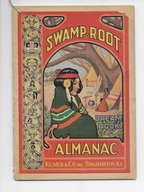 1941 Swamp-Root Almanac Dream Book, w/Astrology, Indian cover Bright colors - $10.00