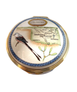 Halcyon Days Enamels - Oklahoma State Collection LE 1000 - $200.00