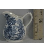 Vintage Royal Staffordshire Tonquin Blue Mini Creamer - $25.00