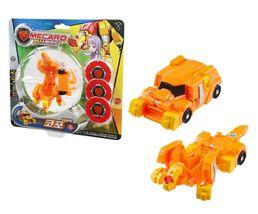 Pasha Mecard Copo Mecardimal Turning Car Vehicle Transformation Transforming Toy image 3