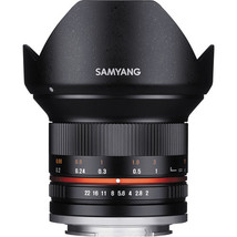 Samyang 12mm f/2.0 NCS CS Lens for Sony E-Mount (APS-C) (Black)  - $380.77