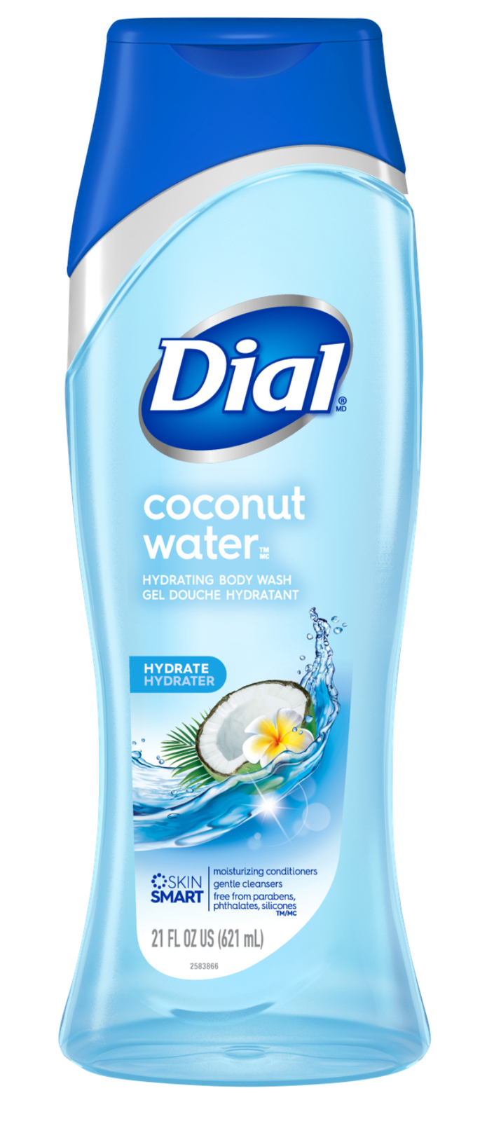 Primary image for Dial Hydrating Body Wash, Coconut Water, 21 Fluid Ounces