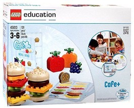 NEW LEGO Education Cafe Menu 45013 STEM 131pcs Construction Playset - $134.63