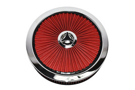 """14"""" High Flow Replacement Air Cleaner Assembly w/ Round Air Filter Element Kit"""