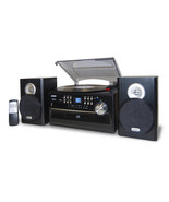 Jensen 3-Speed Stereo Turntable with CD System, Cassette and AM/FM Stere... - $155.11