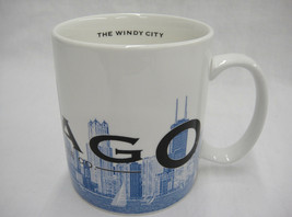 Starbucks Coffee Mug Chicago Skyline Series One Barista Windy City 2002 - $14.84