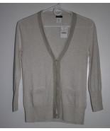 J Crew leigh chiffon pima cotton wool cardigan ... - $42.00