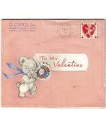 TO MY VALENTINE - Vintage Pink Valentine Card b... - $6.99