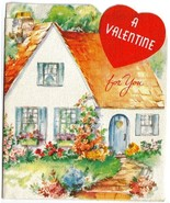 1952 Vintage Folding Valentine's Day Greeting Card by Forget-Me-Not  - $7.50