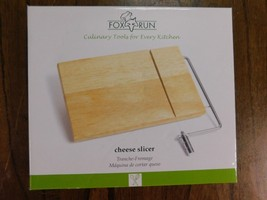 NEW Wood Cheese Slicer Stainless Steel Wire Board Cutter Block Kitchen Host - €8,13 EUR