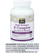 365 EVERYDAY VALUE High Potency B-Complex 60 Tablets - $19.99