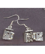 Funny OUTHOUSE EARRINGS-Camping Country Bathroom Charm Costume Jewelry-O... - $16.97