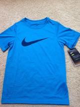New Nike Dri-Fit Anti Odor S/S Polyester Tee T-SHIRT Pick Sz 7-8 Or M 10-12 F/S - $14.00