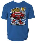 Football King t shirt rugby UK comics s-3xl - $14.42+