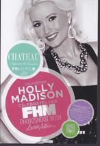 HOLLY MADISON FHM PHTOSHOOT W/ LAURENS ANTOINE Las Vegas Promo Card - $3.95