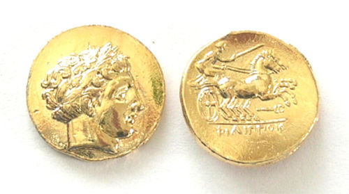 (DD-G 072) Gold Stater of Phillip II Copy