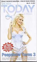 HOLLY MADISON PEEPSHOW TURNS 3 @ TODAY Magazine 2012 - $3.95